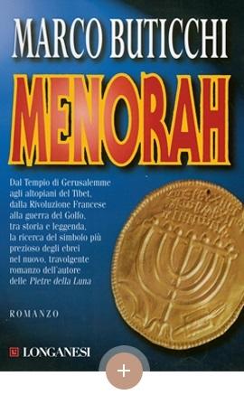 copertina Menorah, Marco Buticchi