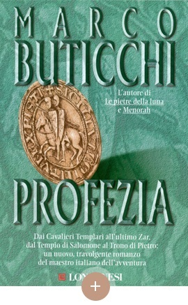 copertina Profezia, Marco Buticchi