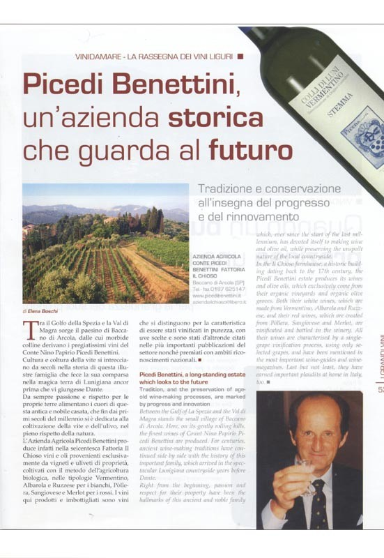 Vinidamare - La rassegna dei vini Liguri