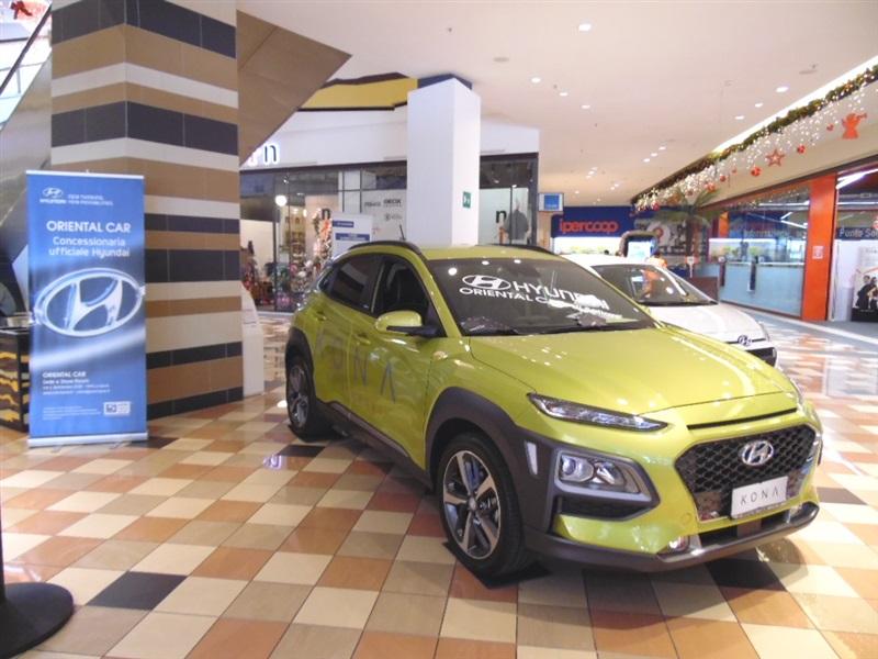 La nuova Kona al Centro Commerciale Le Terrazze - Oriental Car La ...