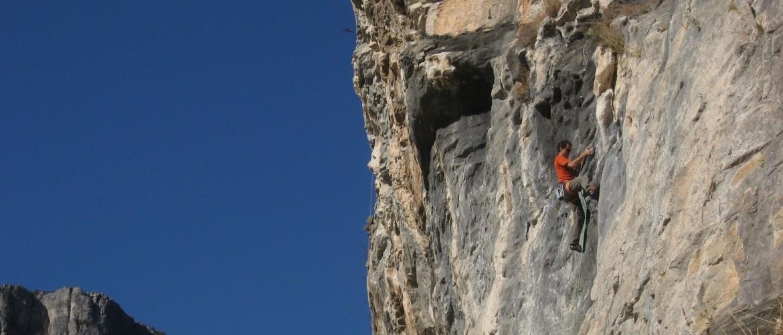 free climbing Val Varatella
