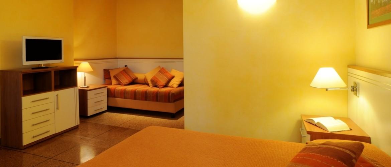 terzo letto della camera matrimoniale