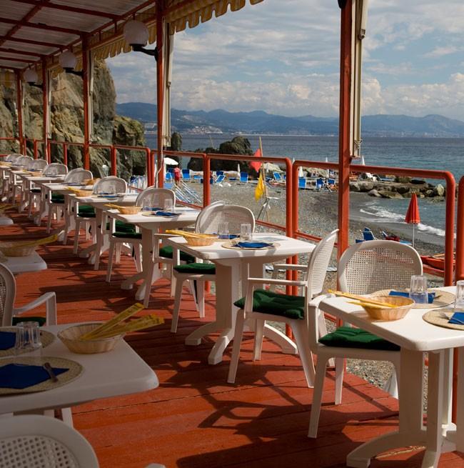 Foto del bar della spiaggia privata dell'Hotel