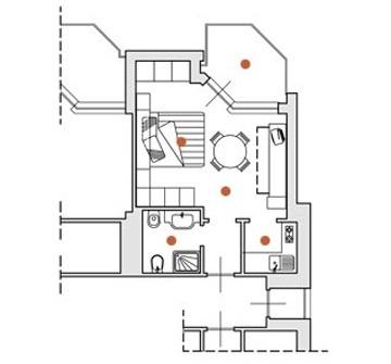 Monolocali con aria condizionata e WiFi per soggiorno di lavoro in Liguria