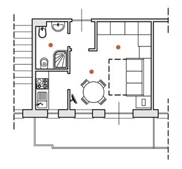 Ferienhaus mit Balkon und Klimaanlage im Residence Oliveto in Ceriale