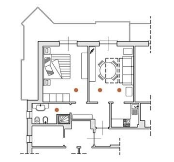 Appartements de deux pièces avec wifi pour séjours d'affaires à Ceriale Liguria