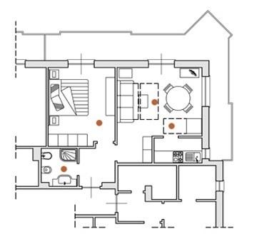 Appartement de deux pièces avec piscine pour des vacances en famille à Ceriale en Ligurie