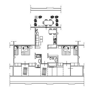Penthouse à louer avec piscine en Ligurie