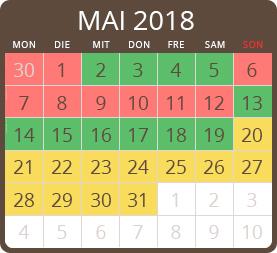 calendario 2018 camping al porto