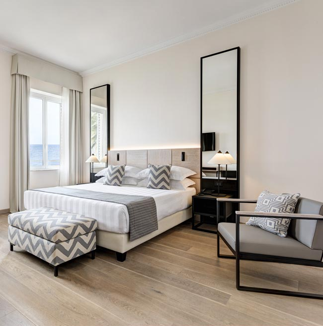 Camera Superior vista mare del Grand Hotel Arenzano