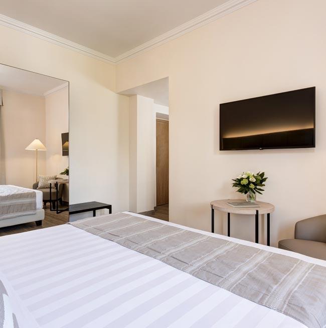 Camera Superior vista parco del Grand Hotel Arenzano