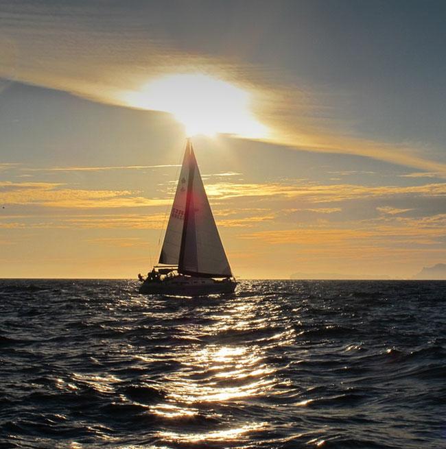 Sailing Arenzano